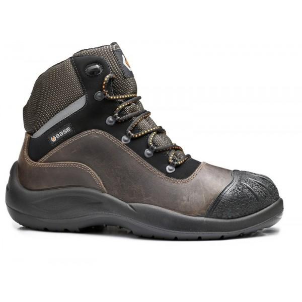 Werkschoenen Met Stalen Neus.Base B416 S3 Src Schoenen Stalen Neus Leer Voor Bouwindustrie