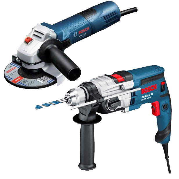 bosch gsb 19 2 re klopboormachine actieset met gws 7 125 toolsxl online gereedschap shop makita. Black Bedroom Furniture Sets. Home Design Ideas