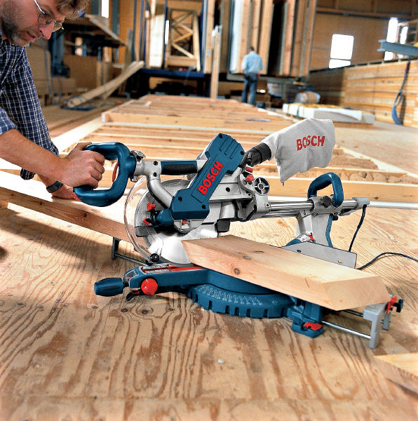Bosch GCM 10 SD Afkortzaag 0 601 B22 503   255 mm   1800 Watt   ToolsXL Online Gereedschap Shop