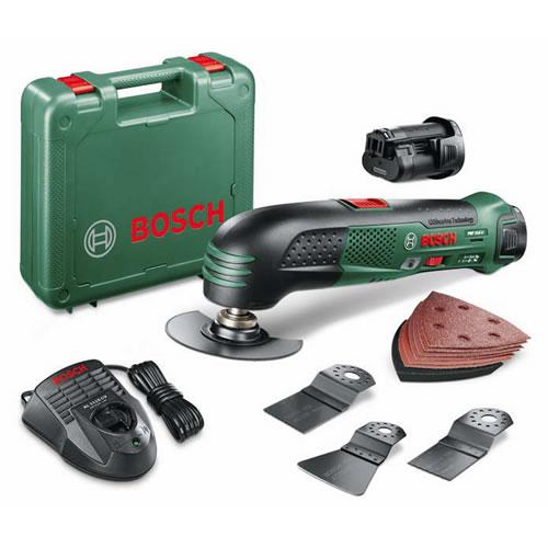 Bosch PMF 10,8 Li Accu Multigereedschap  2x 10,8 Volt Li