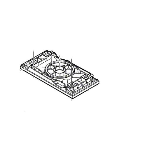Uitzonderlijk Bosch Bodemplaat 2.609.000.877 Voor Bosch schuurmachine PSS 250 ON65