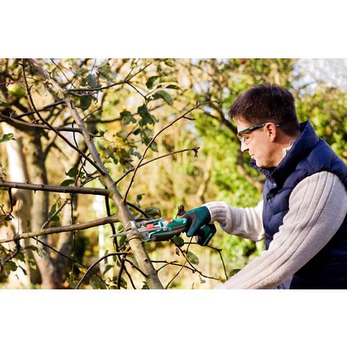 Bosch keo elektrische tuinzaag 10 8 volt li ion 80 mm for Tuinbladen nl
