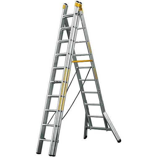 brennenstuhl 1461630 ladder 6 mogelijkheden 3x 12 treden 3 7 8 7 meter toolsxl online. Black Bedroom Furniture Sets. Home Design Ideas