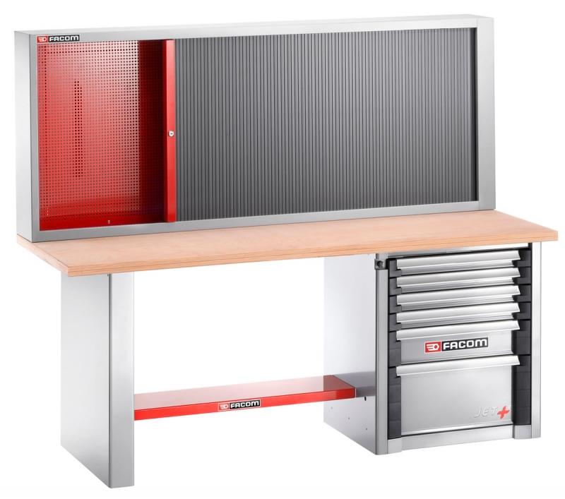 Facom werkbank 2000 ab32m3 werkbank met een lengte van 2 for Ladenblok gereedschap
