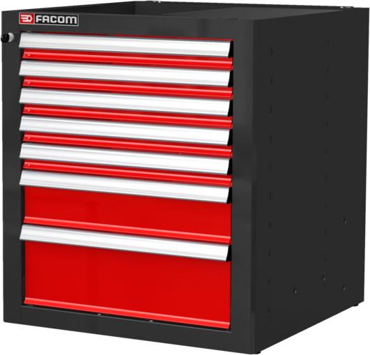 Facom jls2 mbs7t ladeblok 722 x 701 x 810 mm 7 laden for Ladenblok gereedschap