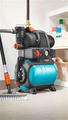 gardena 5000 5 comfort hydrofoorpomp met watertank 1100. Black Bedroom Furniture Sets. Home Design Ideas