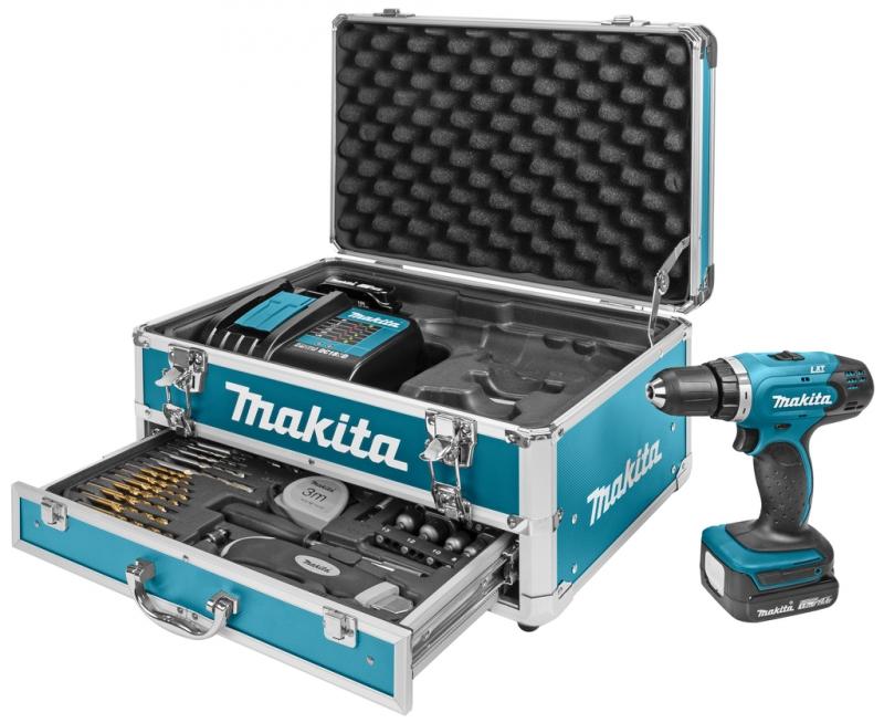 makita ddf343syx3 accuboor 2x 14 4 volt 1 5 ah li ion koffer accessoiresset toolsxl online. Black Bedroom Furniture Sets. Home Design Ideas