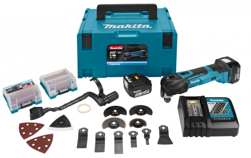 makita dtm41rmjx3 accu multitool 14 4 volt 5 0 ah li ion acc toolsxl online gereedschap. Black Bedroom Furniture Sets. Home Design Ideas