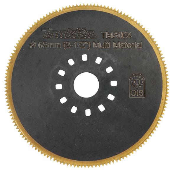 Fabulous Makita TMA004 Zaagblad   BI Metaal TiN   65 mm   1,2 mm RD89