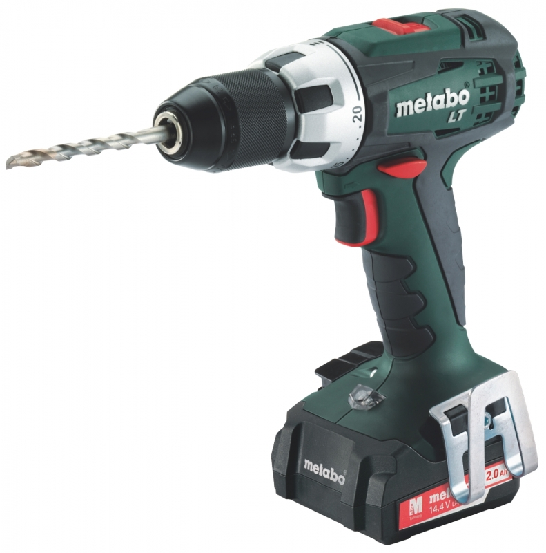 metabo bs 14 4 lt compact accuboormachine 18 volt 2 0 ah li ion toolsxl online gereedschap shop. Black Bedroom Furniture Sets. Home Design Ideas