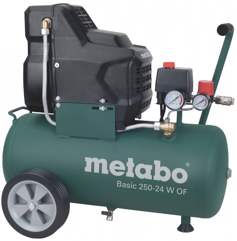 metabo basic 250 24 w of compressor lucht olievrij 1 5 kw toolsxl online gereedschap shop. Black Bedroom Furniture Sets. Home Design Ideas