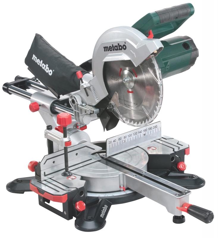 Metabo afkortzaag kgs 254 m 254 mm 1800 watt laser - Metabo kgs 254 ...