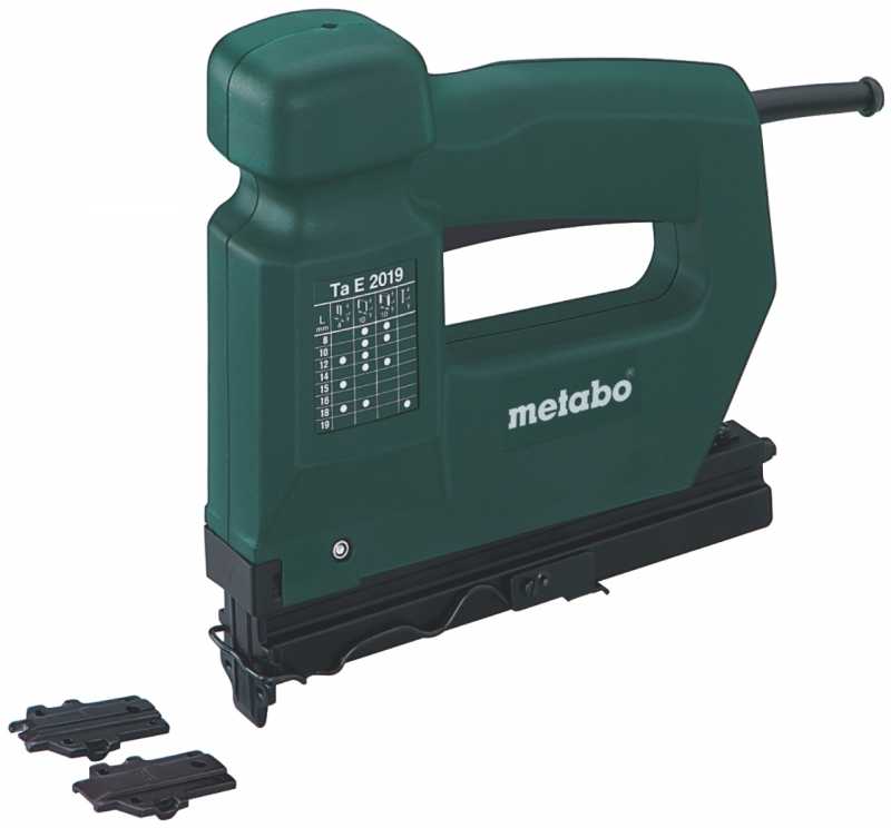 metabo ta e 2019 tacker nietmachine 12 18 mm electronic toolsxl online gereedschap shop. Black Bedroom Furniture Sets. Home Design Ideas