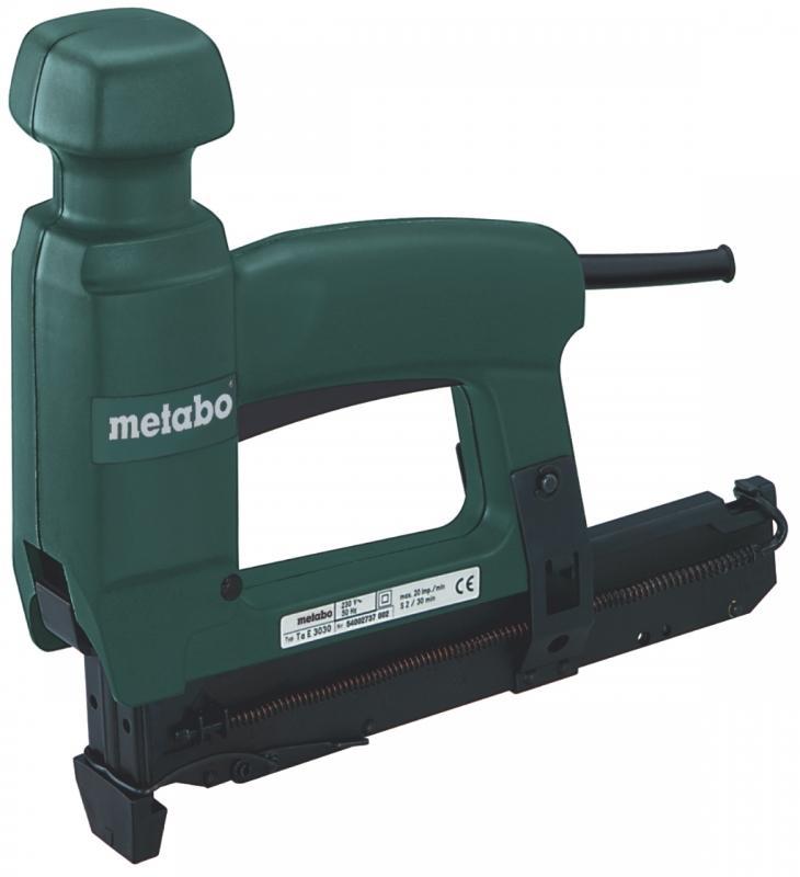 metabo ta e 3030 tacker nietmachine 16 30 mm electronic toolsxl online gereedschap shop. Black Bedroom Furniture Sets. Home Design Ideas