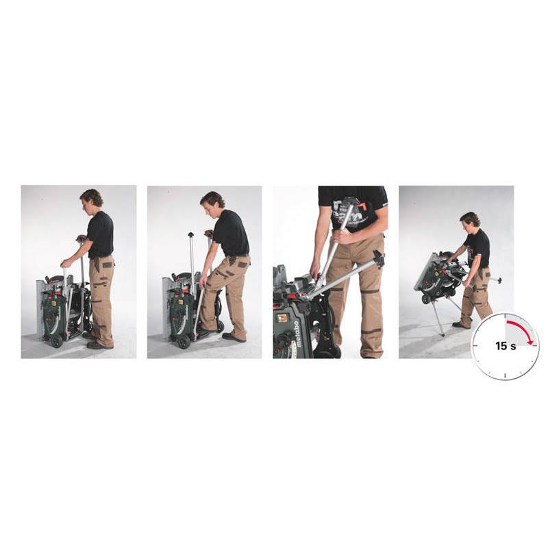 metabo ts 254 tafelcirkelzaag wielen 2000 watt 254 x 30 mm onderstel toolsxl online. Black Bedroom Furniture Sets. Home Design Ideas
