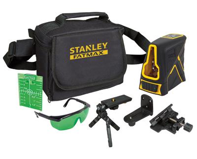 stanley fmht1 77348 kruislijnlaser fatmax 20 meter groen toolsxl online gereedschap shop. Black Bedroom Furniture Sets. Home Design Ideas