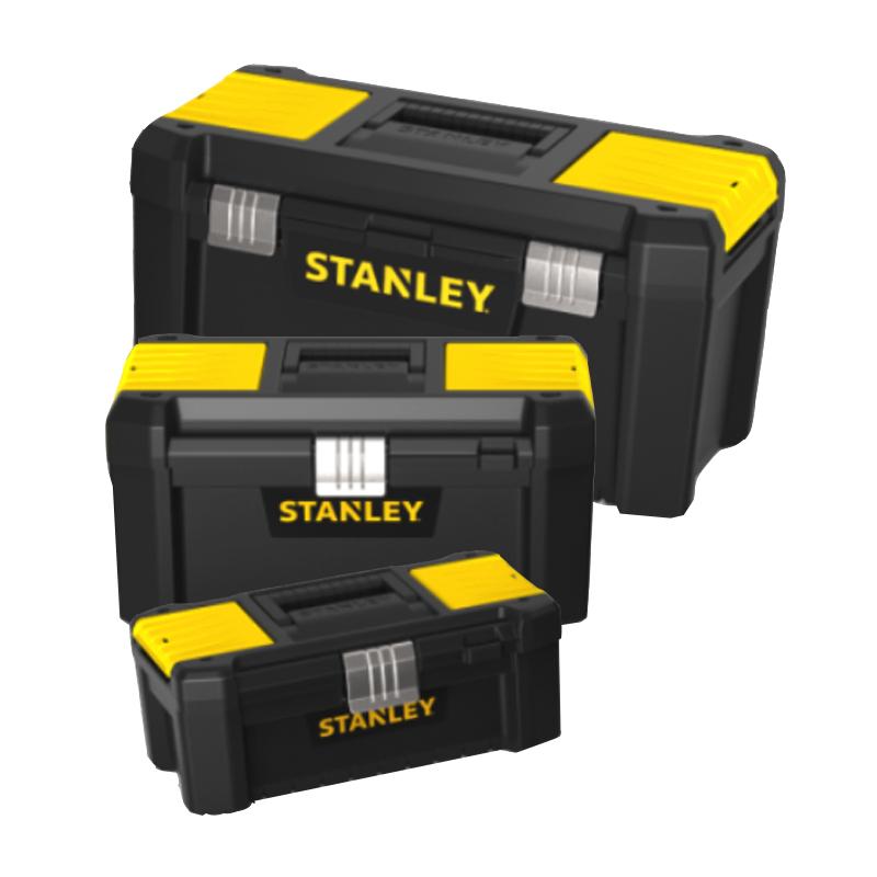 Stanley stst1 75521 gereedschapskoffer metalen sluiting 48 2 x 25 4 x 25 cm toolsxl online - Caisse a outils stanley ...