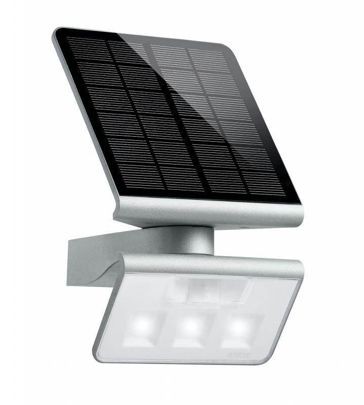steinel 671013 xsolar l s zilver wandlamp sensor zonnepaneel 30m2 toolsxl online. Black Bedroom Furniture Sets. Home Design Ideas