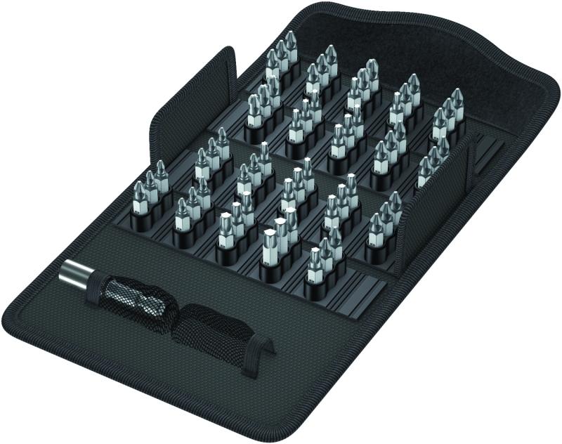 wera bit safe 61 universal 2 bitset rapidaptor houder. Black Bedroom Furniture Sets. Home Design Ideas