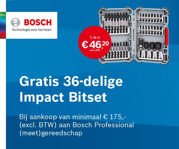 Gratis Accu Bosch Tuin