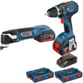 Multitool en boormachine  | Click and Go | 18V 4,0 Ah | L-Boxx