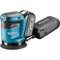 Makita DBO180RFJ Excenter Schuurmachine | 125 mm | 18 Volt 3,0 Ah Li-Ion | +M-Box