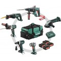 Metabo Combo Bouw&Renovatie 6.1 Combo Set | 6 Machines | 4x Accu 18V 4,0 Ah | +Tas