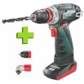 Metabo Powermaxx BS Quick Pro Accu boormachine | 10,8V | Quick | Pro | 2.0 + 4.0 Ah accu