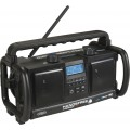 PerfectPro Handsfree Bouwradio | Digitaal | Handsfree bellen | Bluetooth