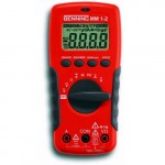 Benning Multimeter MM 1-2 Multimeter | Digitaal | 750 AC | 1000 V DC | 2 mF | + Accessoire