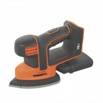 Black & Decker Accu Schuurmachine- Mouse Accu Schuurmachine | Detail | Mouse | 18 Volt  | Basic | +Gaas
