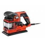 Black & Decker KA330E Schuurmachine | DuoSand | 270 Watt | 2.0mm | Stofopvangreservoir