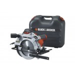 Black & Decker KS1500LK Cirkelzaag | 1500 Watt | 65 mm | 190 mm | + Koffer + Laser