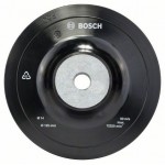 Bosch 1.608.601.033 Rubber steunschijf | 125 mm | M14 | voor haakse machines