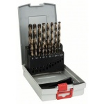 Bosch 2.608.587.014 Metaalboren | HSS-Co |  1 - 10 mm | 135 Graden | 19-Delig