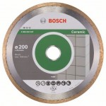 Bosch 2.608.602.537 Diamantschijf | Professional for ceramic | 200 x 25,4 mm
