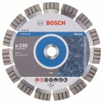 Bosch 2.608.602.645 Diamantschijf | Best for stone | 230 x 22,23 mm