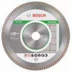 Bosch 2.608.603.599 Diamantschijf |Best for Ceramic Extra Clean Turbo | 200x25,40 mm
