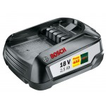 Bosch PBA 18 V 2,5 Ah W-B Accu | 18 Volt 2,5 Ah Li-Ion | Power 4All