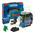 Lijnlaser | 12V 2.0Ah Li-Ion | Groen | 30m | Connected | +L-Boxx