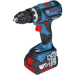 Bosch Blauw GSB 18 V-60 C Connected Accuklopboor | 18V 5,0Ah Li-Ion | Connected |Borstelloos |L-Boxx