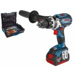 Bosch Blauw GSB 18 V-85 Conn + Gedore Accuklopboor | 18V 5,0Ah | Connected Brushless | L-Boxx +Gedore