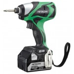 Hitachi WH18DBDL Slagschroevendraaier | 18 Volt Li-Ion  5.0 Ah | +Systainer