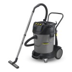 Karcher Professional NT 70/3 Nat-droogzuiger | 3600 W | 70L | 40mm | Groot Reservoir