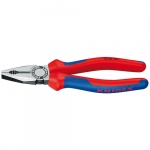 Knipex 0302180 Combinatietang | Meercomponentengrepen | 180 mm