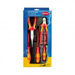 Knipex 002013 Tangenset | VDE | +3 Wera schroevendraaiers | 5-Delig