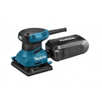 Makita BO4555K Vlak Schuurmachine | 114 mm | 200 Watt | Handpalm | Velcro