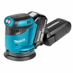 Makita DBO180RTJ Excenter Schuurmachine | 125 mm | 18 Volt 5,0 Ah Li-Ion | +M-Box