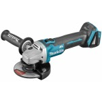 Makita DGA506ZJ Accu Haakse slijper | 125 mm | 18V Li-Ion | Rem | M-Box | Basic