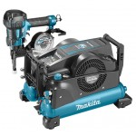 Makita DK1193 Startset 22 Bar Tacker + Compressor + Haspel + Trolley + Nagels